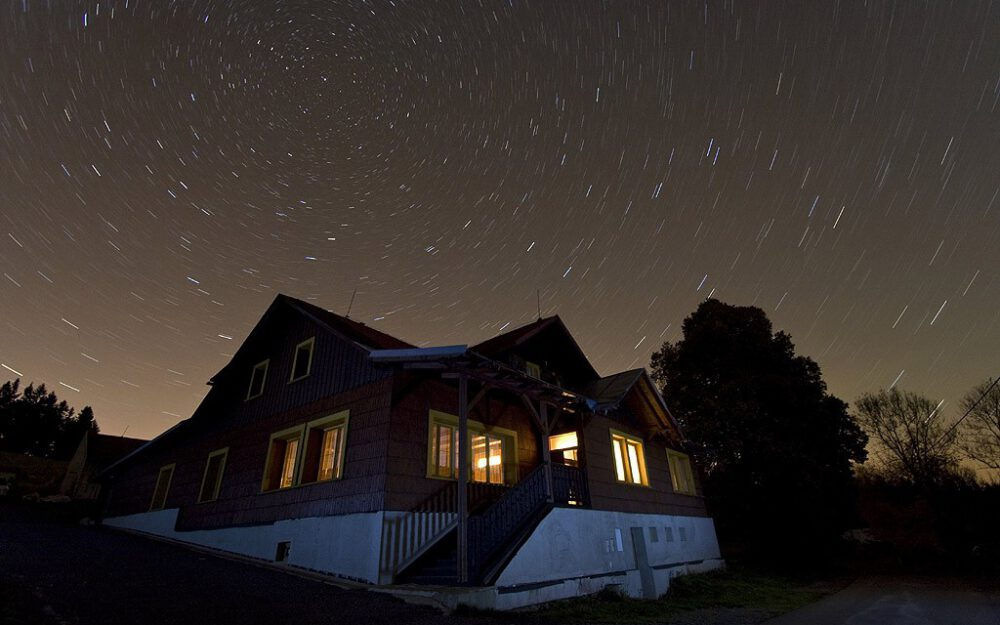 Chata Švarná Hanka na Gruni
