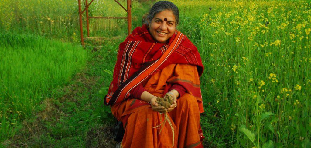 Vandana Shiva: Jsme půda